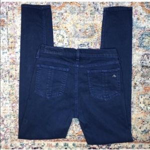 Rag & Bone Maya Blue Skinny Jeans Jeggings
